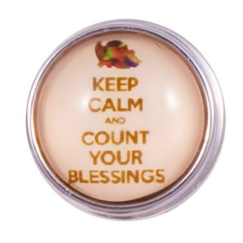 Keep Calm Count Blessings Popper