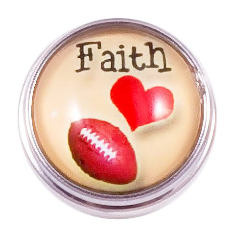 Faith Love and Football Popper