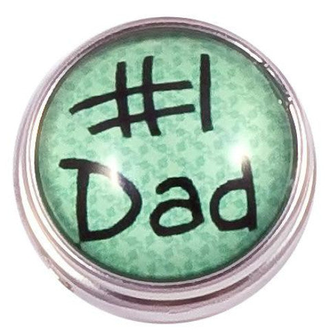 Green No 1 Dad Snap