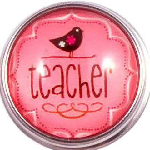 Pink Teacher Snap