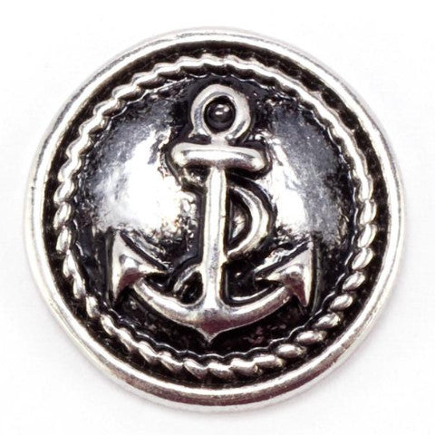 Metal Anchor Snap - Gracie Roze Yourself Expression Snap Jewelry