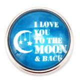 I Love You to the Moon Popper