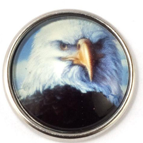 Bald Eagle Snap - Gracie Roze Yourself Expression Snap Jewelry