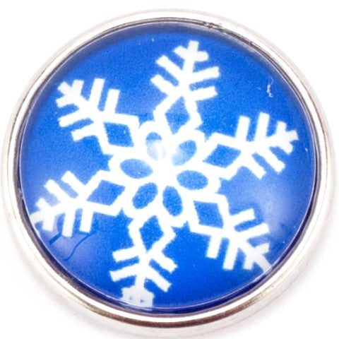Blue Snowflake Popper