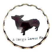 A Corgi Loves Me Popper for Snap Jewelry