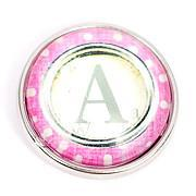 Pink Polka Dot Letters A-M Poppers