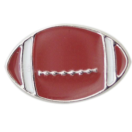 Metal Football Shaped Snap - Gracie Roze