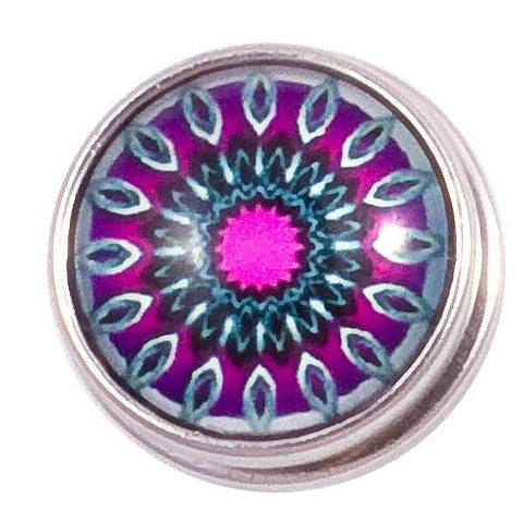 Pink Purple Blue Starburst snap