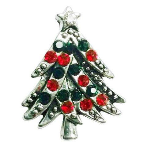 Red and Green Bling Tree
