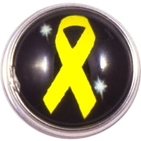 Yellow/Gold Ribbon Popper