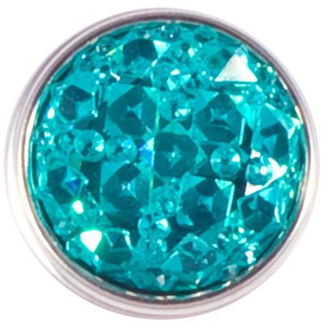 Teal Crystal Facet snap