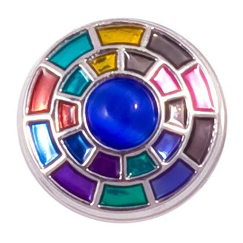 Colorful Wheel Metal Snap