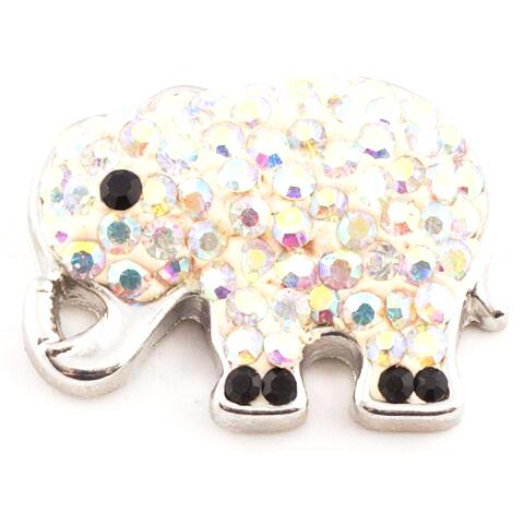 Iridescent Crystal Elephant Snap