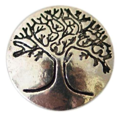 Silver Family Tree Mini Popper