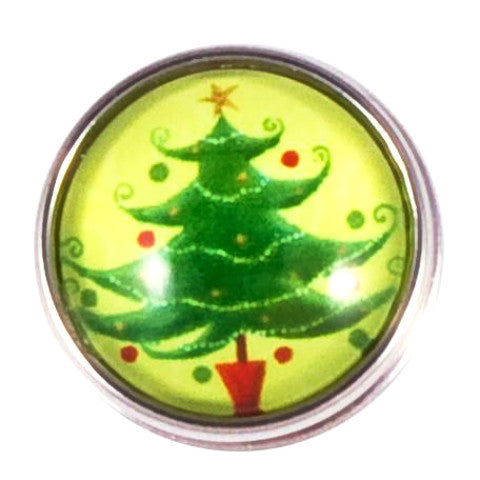 Green Whoville Christmas Tree Popper