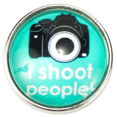 I Shoot People Camera Popper
