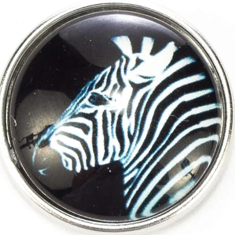 Zebra Snap - Gracie Roze Yourself Expression Snap Jewelry