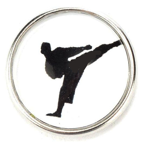 Karate Kick Snap - Gracie Roze Yourself Expression Snap Jewelry