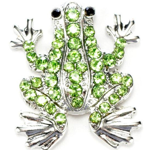 Crystal Frog Snap - Gracie Roze Yourself Expression Snap Jewelry
