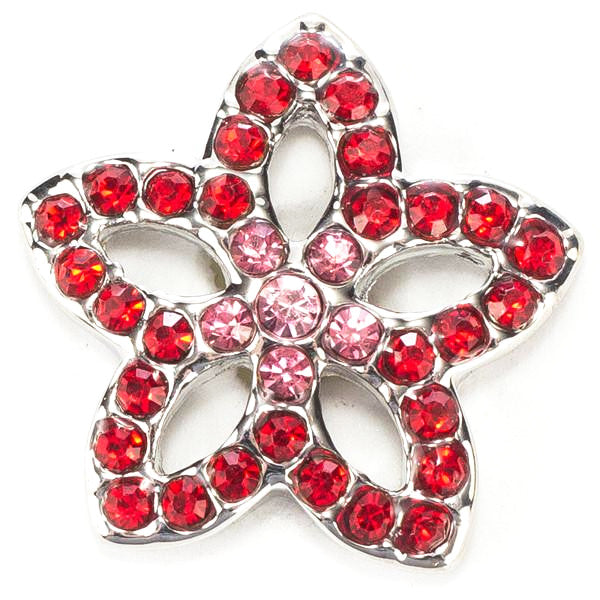 Starfish Red Crystal Popper
