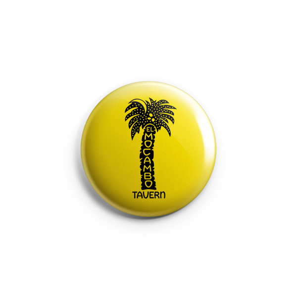 "El Mocambo Palm Logo 1.25"" Button - Prohibition by El Mocambo"