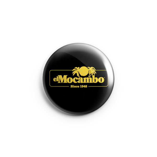 "El Mocambo Retro Logo 1.25"" Button - Prohibition by El Mocambo"