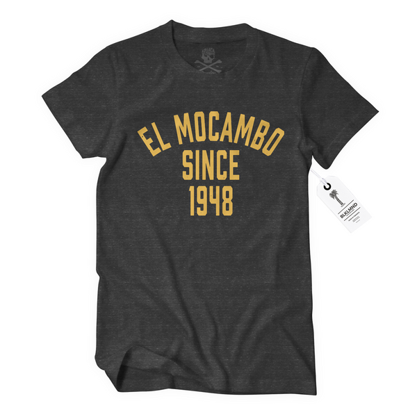 EL MOCAMBO™ RETRO ATHLETIC TEE - Prohibition by El Mocambo
