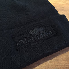 El Mocambo Retro Logo Toque - Black on Black