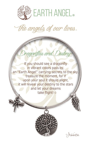 Open image in slideshow, Dragonflies and Destiny: Bracelet