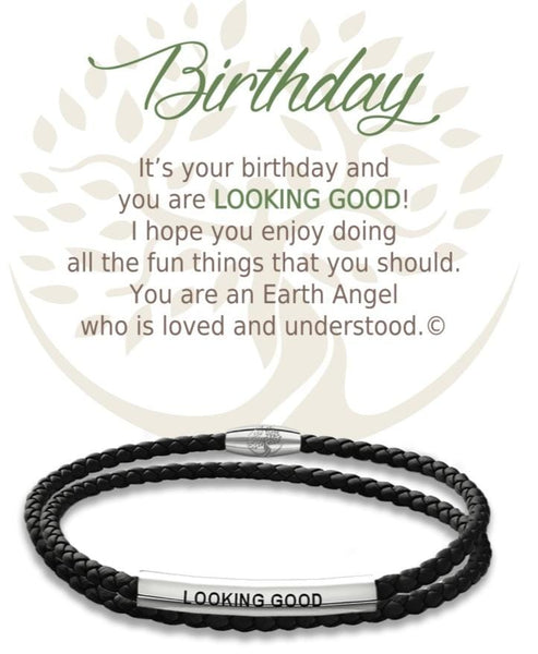Birthday :: Leather Bracelet