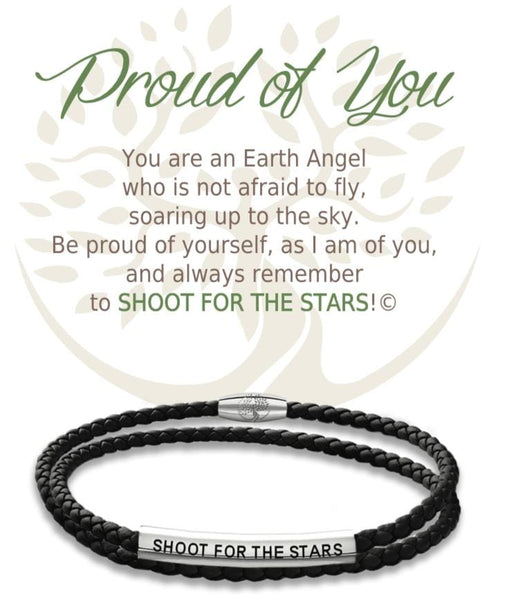 Proud Of You :: Leather Bracelet