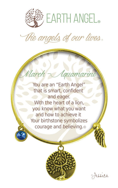 March - Aquamarine :: Bracelet