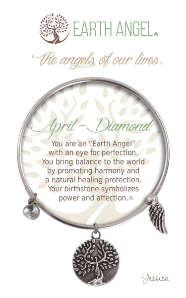 April - Diamond :: Bracelet