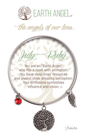 Open image in slideshow, July - Ruby: Bracelet