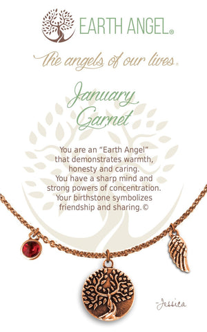 Open image in slideshow, January - Garnet: Necklace