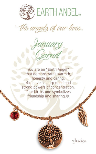 January - Garnet :: Necklace