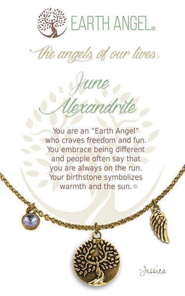 June - Alexandrite :: Necklace