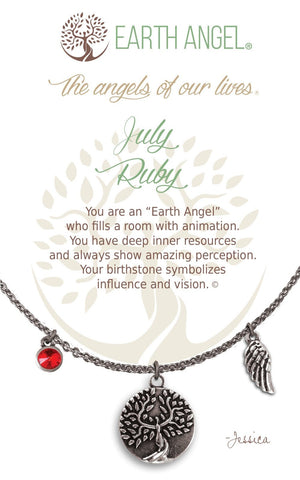 Open image in slideshow, July - Ruby: Necklace