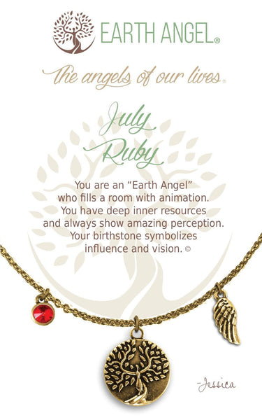 July - Ruby :: Necklace