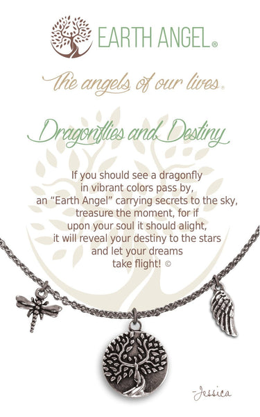 Dragonflies and Destiny :: Necklace