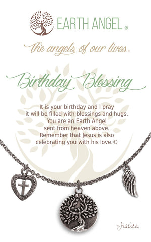 Open image in slideshow, Birthday Blessing: Charm Necklace