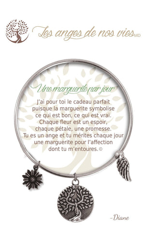 Open image in slideshow, Une marguerite par jour: Bracelet