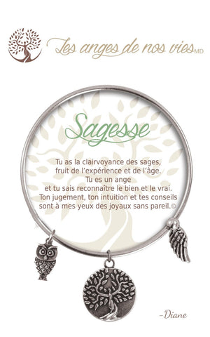 Open image in slideshow, Sagesse: Bracelet
