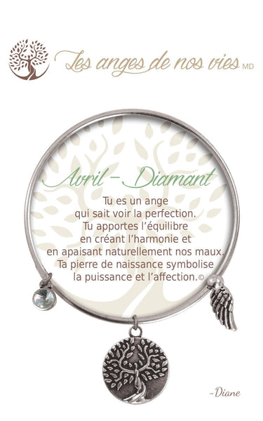 Avril - Diamant :: Bracelet