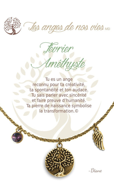 Fevrier - Améthyste :: Necklace