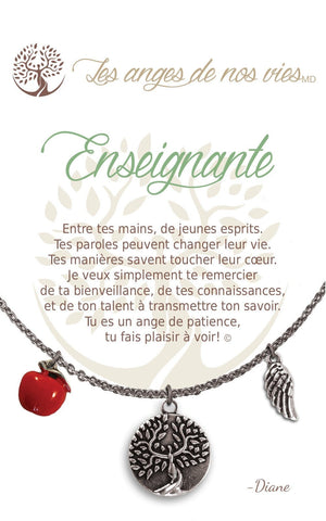 Open image in slideshow, Enseignante: Necklace
