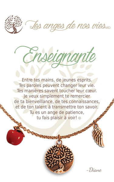 Enseignante :: Necklace
