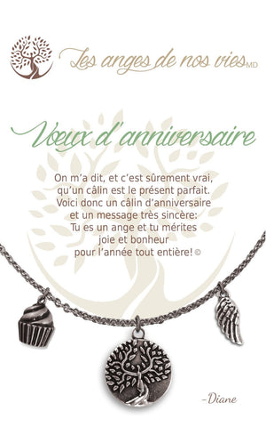 Open image in slideshow, Voeux d'anniversaire: Necklace