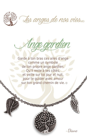 Open image in slideshow, Ange gardien: Charm Necklace