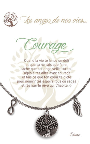 Open image in slideshow, Courage: Necklace
